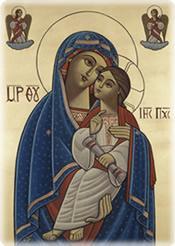 Virgin and Child Coptic